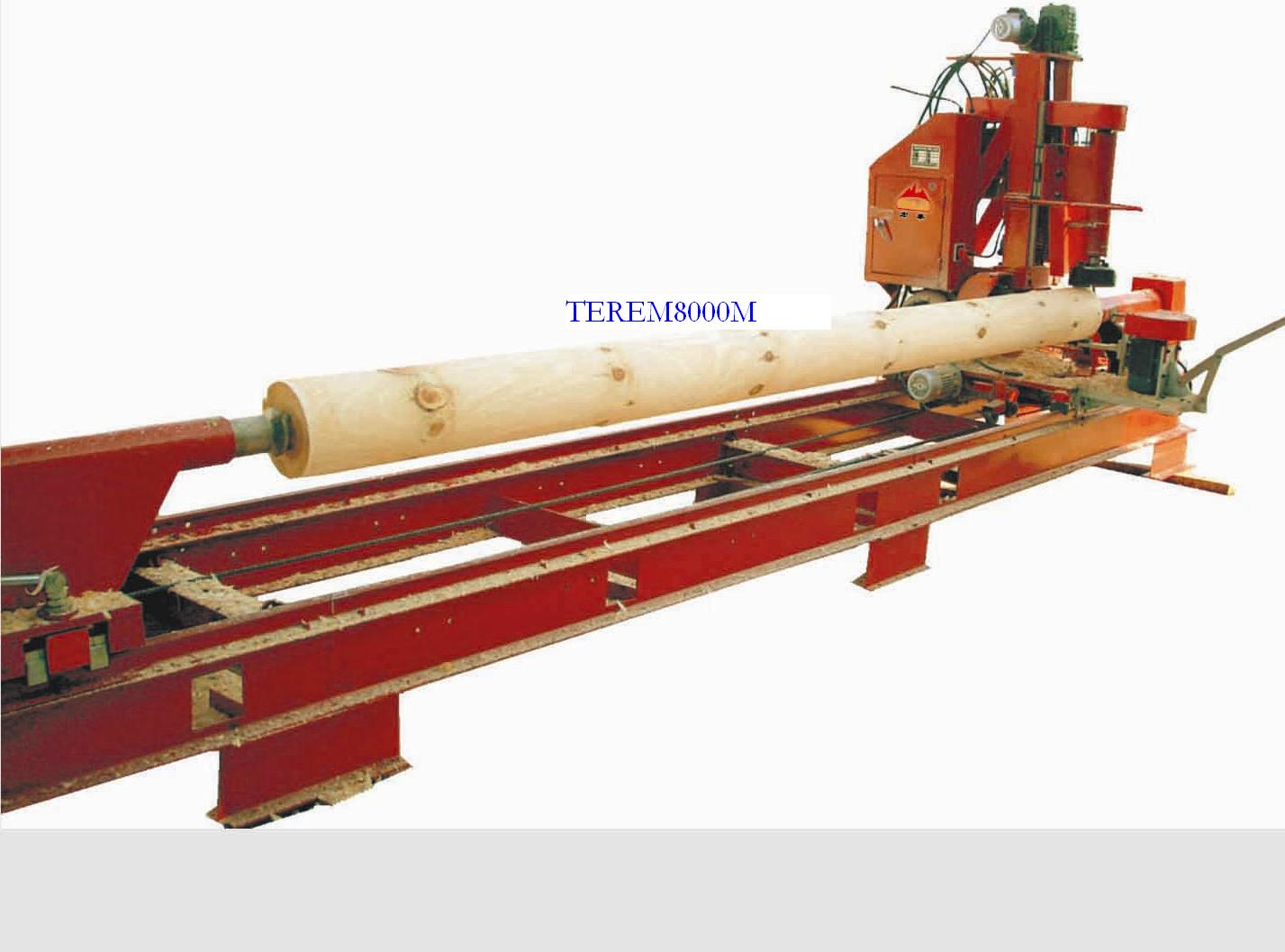 Tepem8000M wood cutting and milling machine